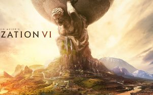 The logo for Sid Meier's Civilization VI