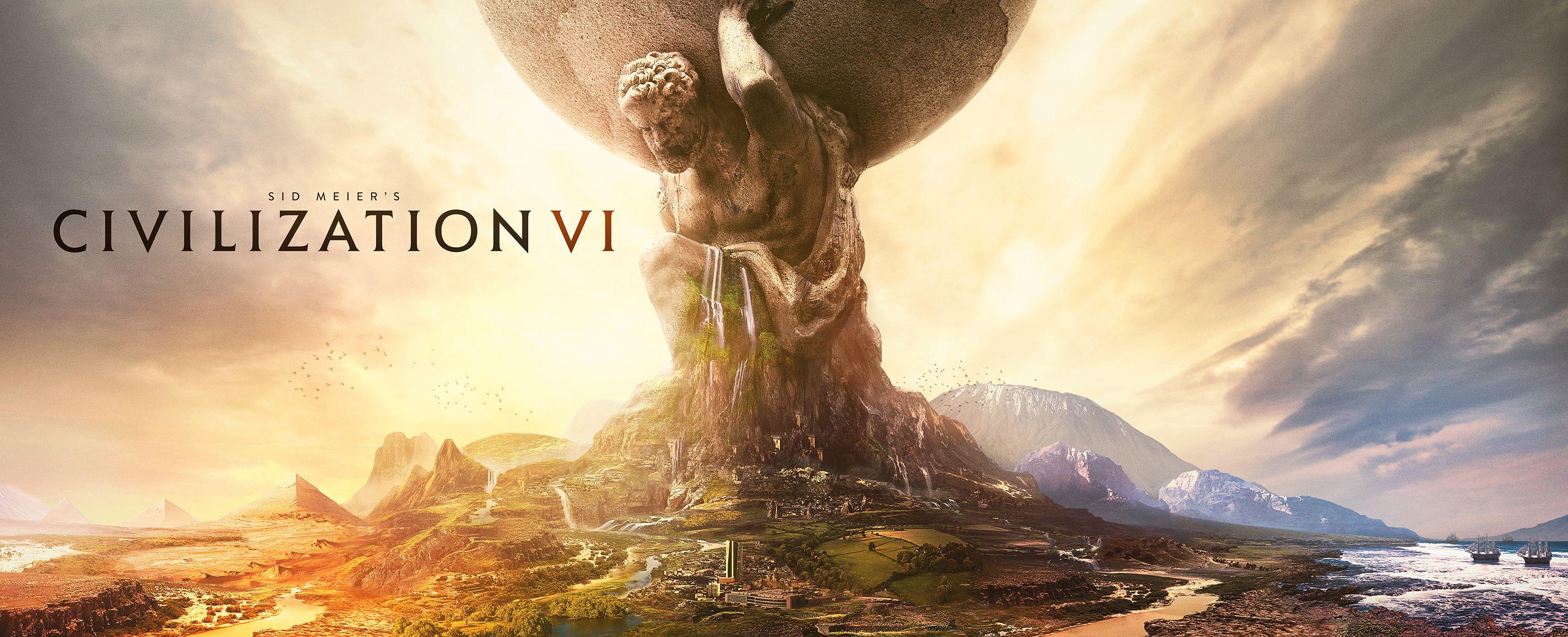 The logo for Sid Meier's Civilization VI