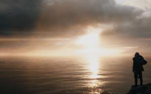 Sunset over the Medetteranian in Battlefield 1.