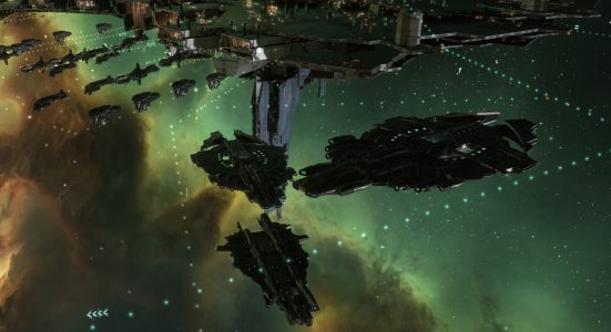 Galente supercapitals in EVE Online