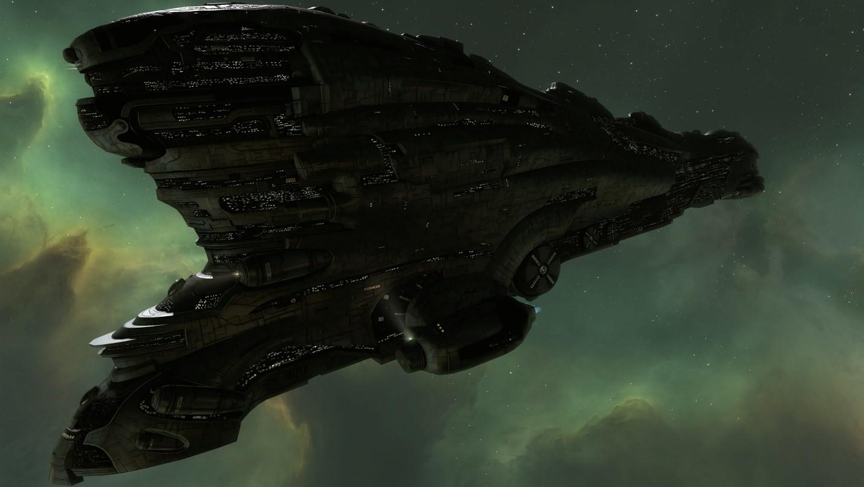 A Vanquisher titan in EVE Online.