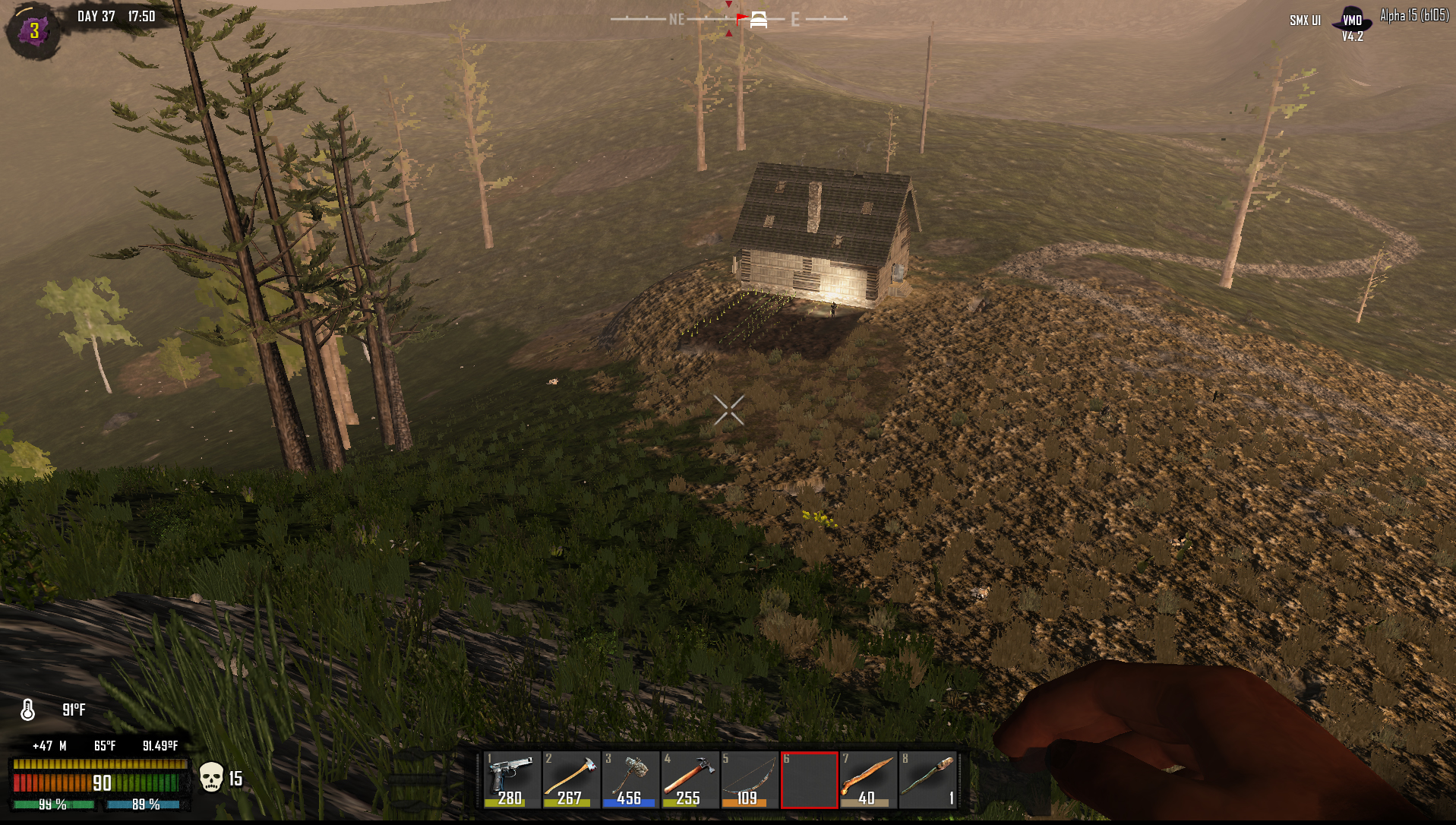 7 days to die valmod review inn for Door 7 days to die