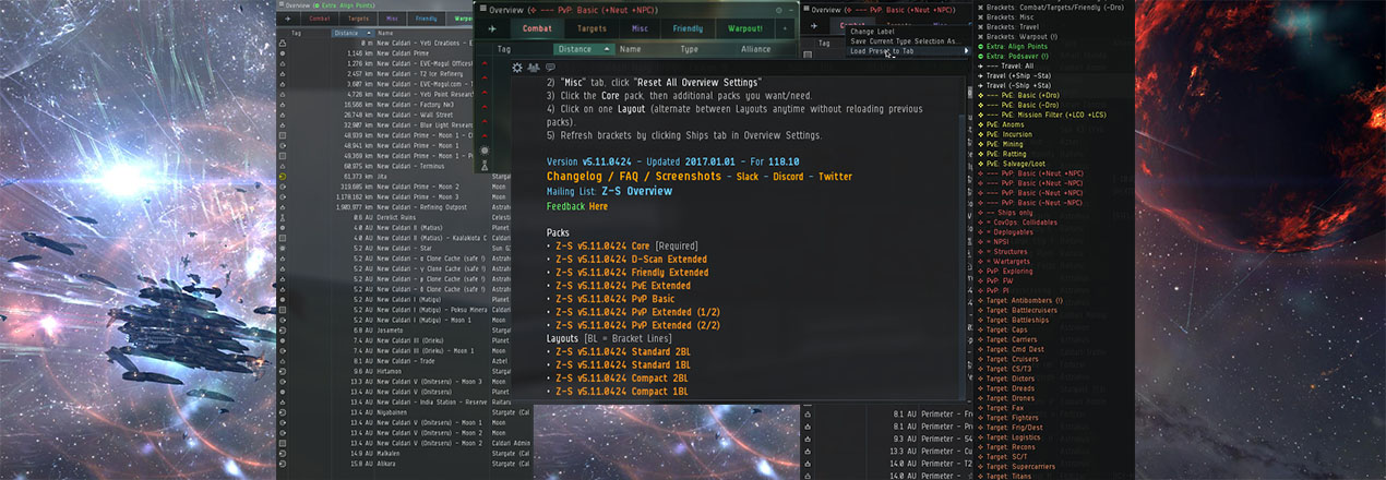 How to d scan eve