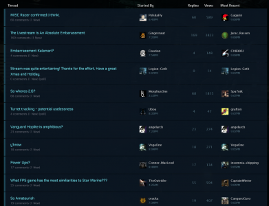 Star Citizen forums pre-quarantining of criticism