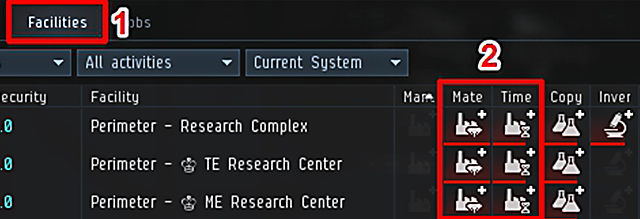 A deeper dive into industry in eve online inn for every level increase in me there is a 1 reduction in input materials for te each level increase reduces production job time by 2 malvernweather Choice Image