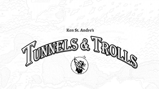 Tunnels and Trolls title screen on the MetaArcade sneak peek