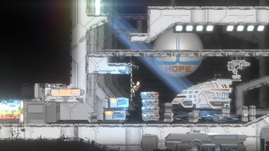 Anew: The Distant Light - the player's ship