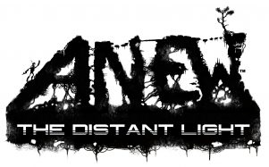 Anew: The Distant Light black and white title image