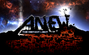 Anew: The Distant Light title screen