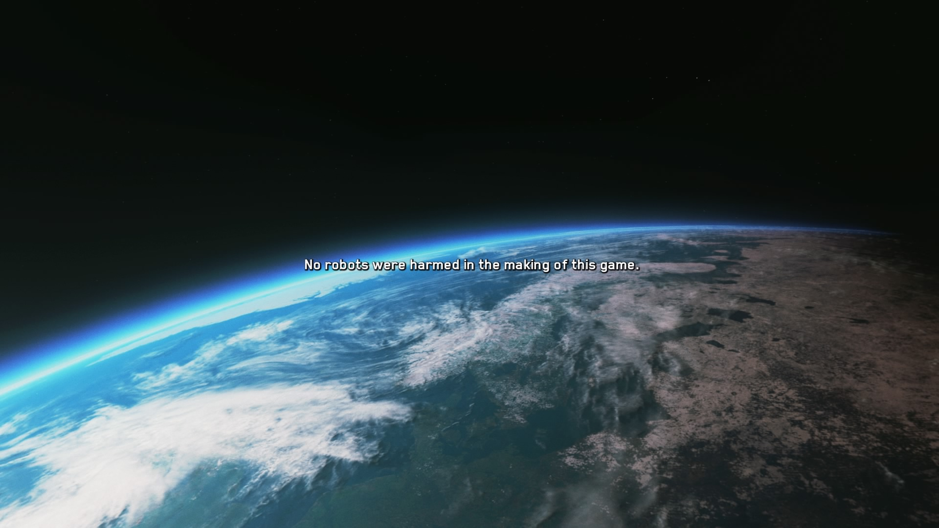 End Credits screen from Call of Duty: Infinite Warfare