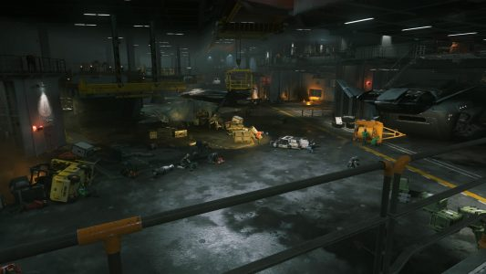Retribution Hangar Deck in Call of Duty: Infinite Warfare
