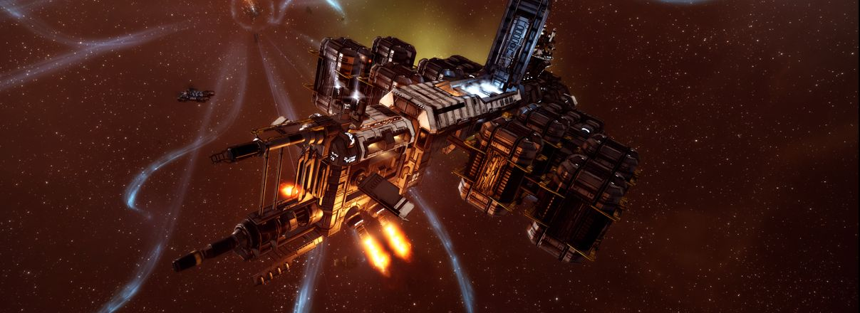 A Rorqual in EVE Online
