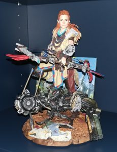 "9"" Aloy statue included in the Horizon Zero Dawn Collectors Edition"