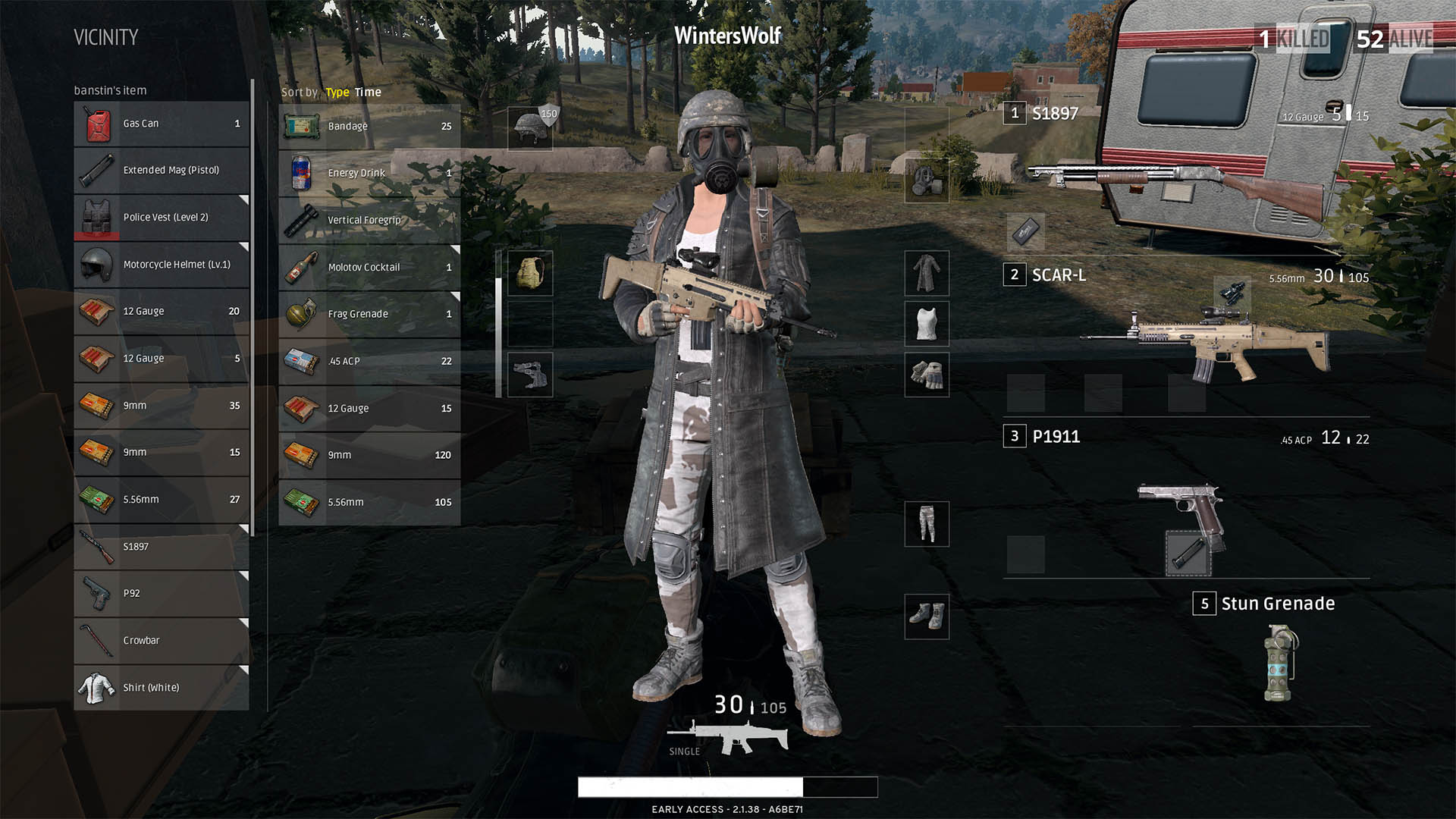 Playerunknown S Battlegrounds Maps Loot Maps Pictures: [LEAK] PUBG Style Scoreboard [GMODSTORE]