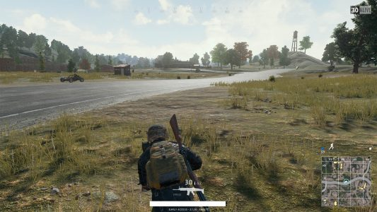 Imperium.News PLAYERUNKNOWN'S Battlegrounds Road Crossing