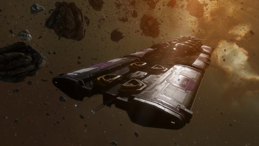 mining ships  from the venture to the rorqual