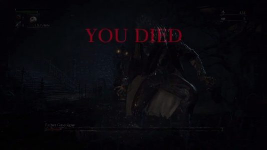 Post death in Bloodborne