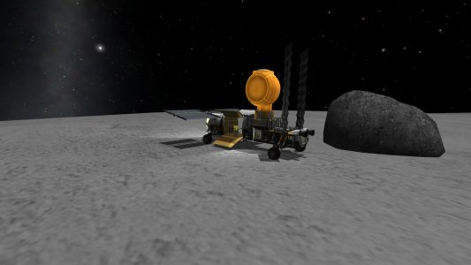 The USI Karibou Expedition Rover with some storage and habitation