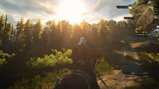 The Witcher 3 Vista