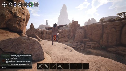 Jumping in Conan Exiles