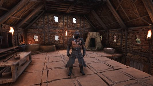 Ready for battle in Conan Exiles