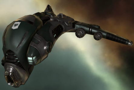 an Atron frigate in EVE Online