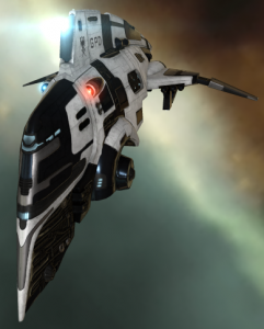 a Federation Navy Comet in EVE Online
