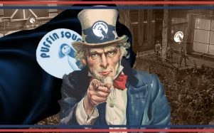 Uncle Sam wants YOU for Puffin Squad