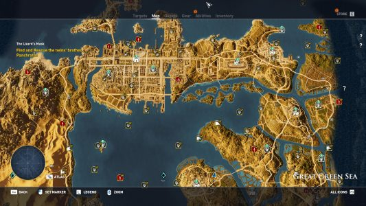 Objectives in Assassin's Creed: Origins