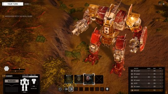 Battletech uses the MechWarrior Online art assets to create stunning battlemech visuals.