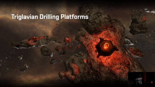 Triglavian Drilling Platforms announced at EVE Vegas