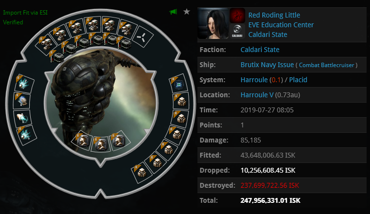 Ship Balance   The Vexor Navy Issue is still the King