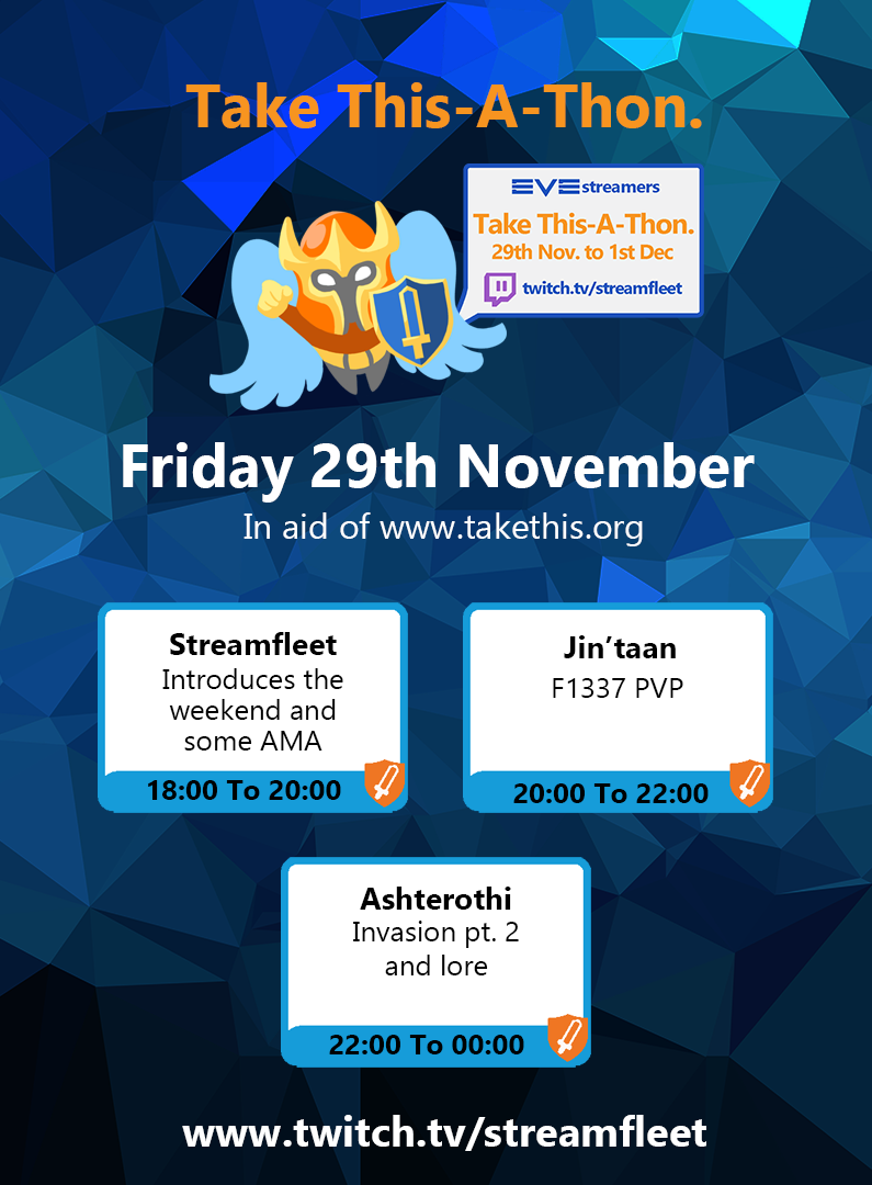 Streamfleet Friday 29 November